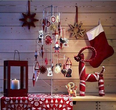 ikea yrsn weihnachtsbaum spirale baum 1m weihnachten deko schaufenster chic neu rote. Black Bedroom Furniture Sets. Home Design Ideas