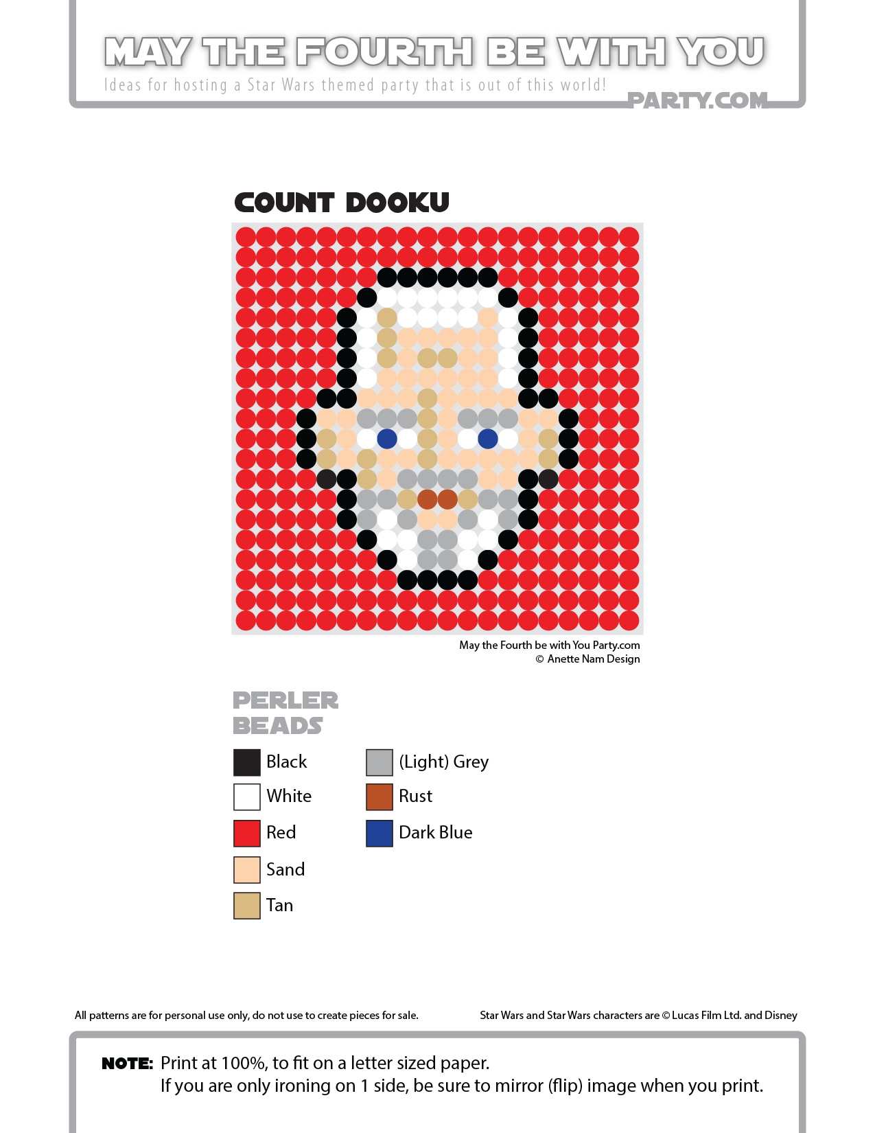 Count dooku perler bead coaster may the fourth be with you party count dooku perler bead coaster may the fourth be with you party bankloansurffo Gallery