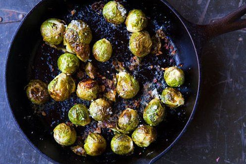 Cast iron is for perfectly caramelized veggies.