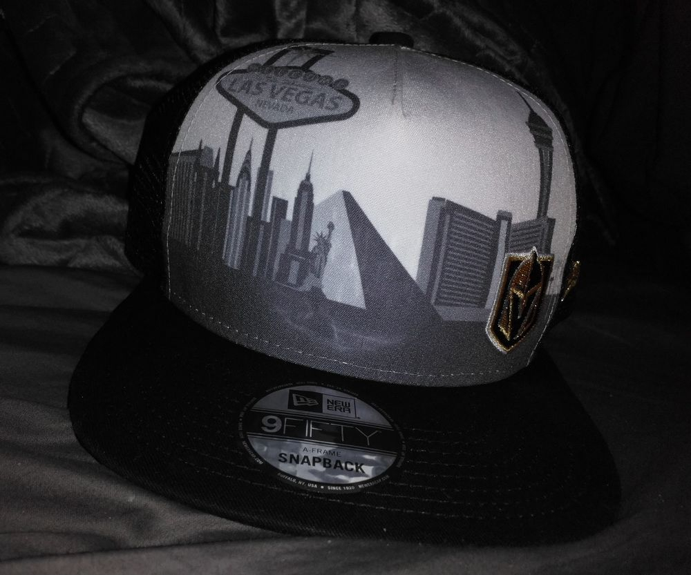 adidas NHL Vegas Golden Knights snap Back Cap