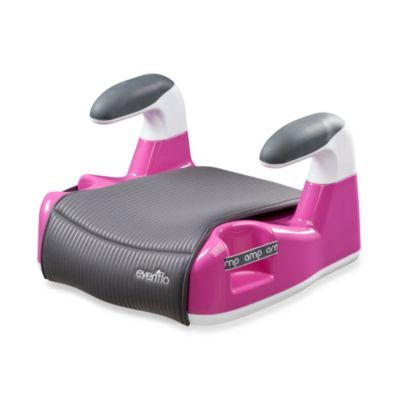Evenflo® Amp™ Performance No-Back Booster Car Seat in Pink - BedBathandBeyond.com
