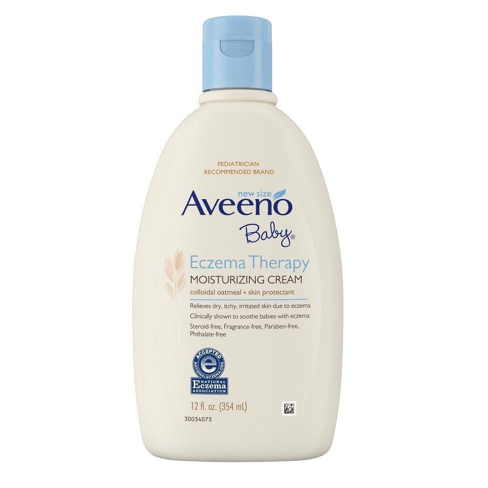 AVEENO Baby Eczema Therapy Moisturizing Cream - 12oz