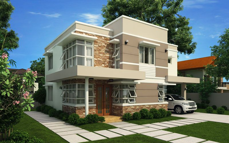 Modern House Design Series: MHD 2012006 | Pinoy EPlans   Modern House  Designs, Nice Design