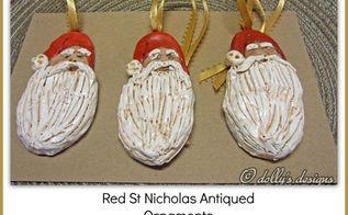 diy st nicholas ornaments, christmas decorations, crafts, diy, seasonal holiday decor