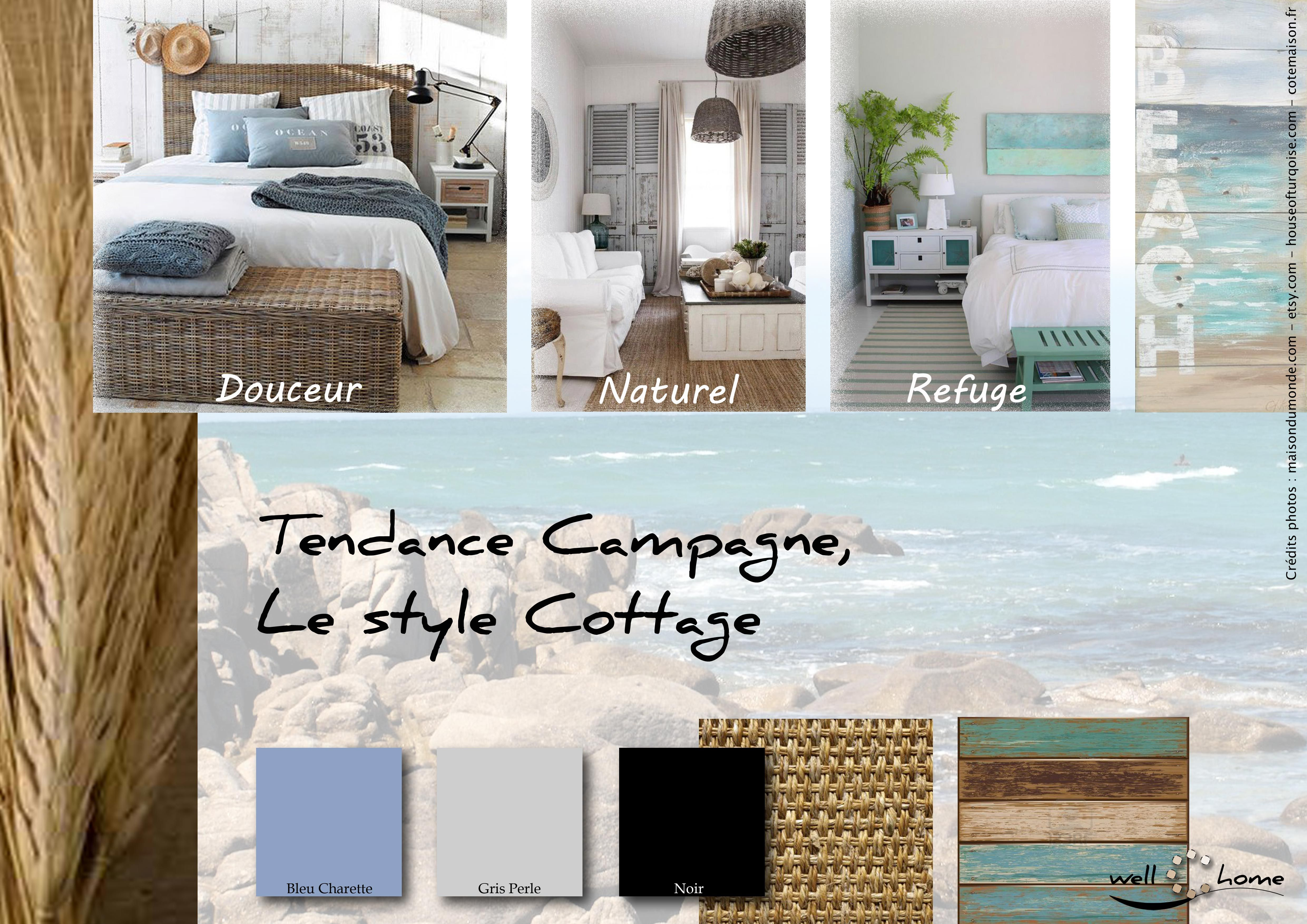 Moodboard - Déco, planche d\'ambiance, tendance campagne, style ...