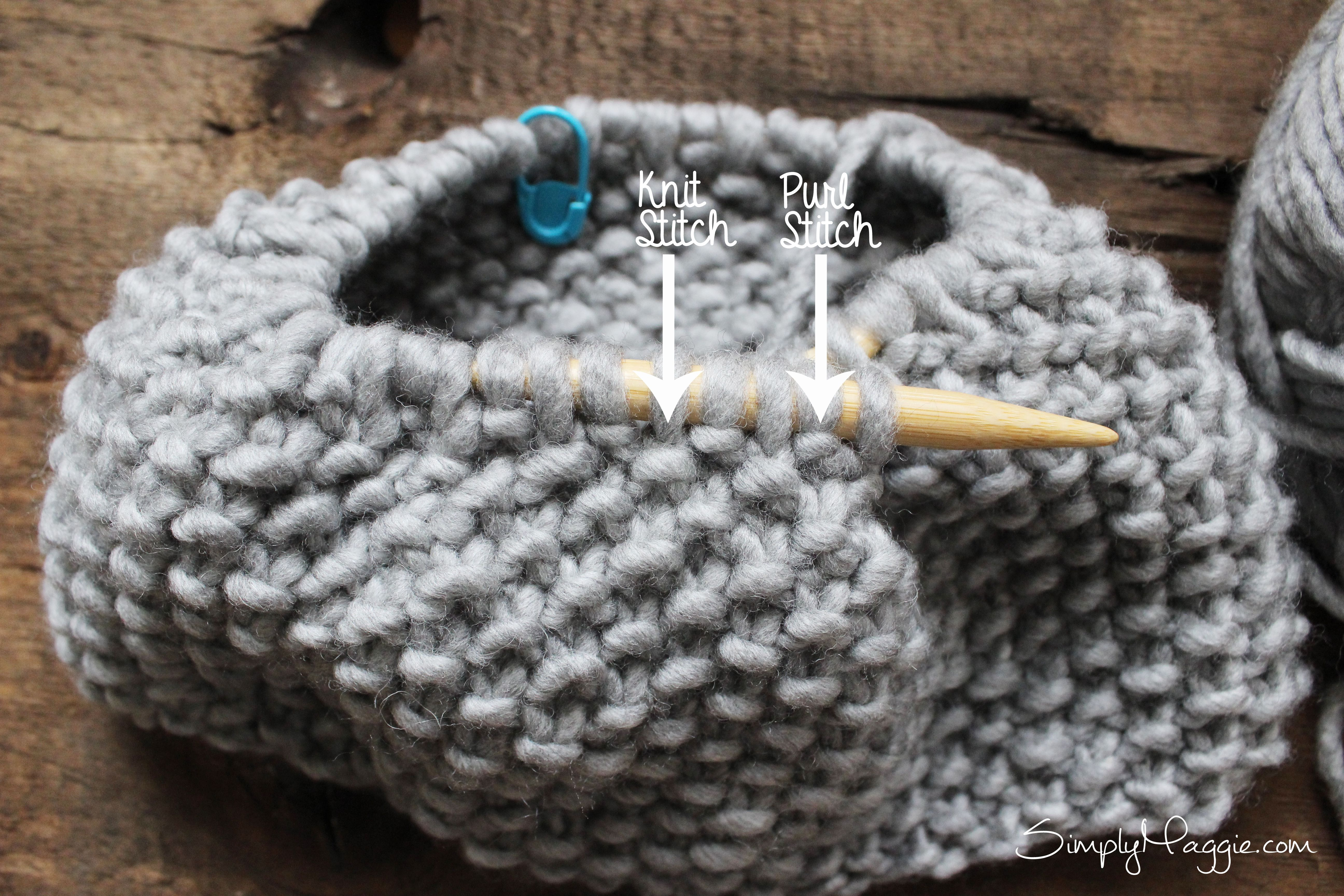 Free Moss Stitch Cowl Pattern - By Simply Maggie | { knit patterns ...