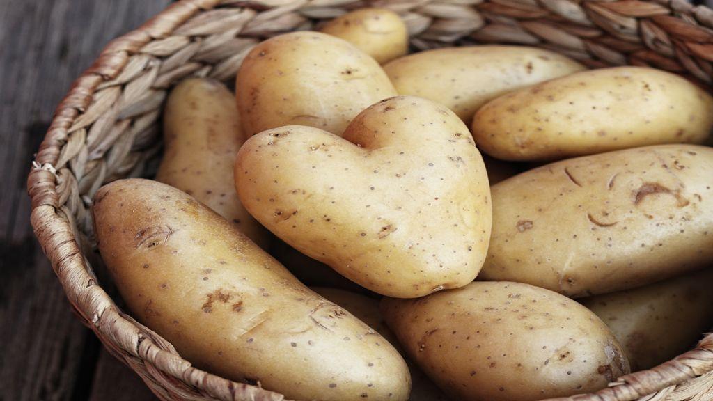 Kartoffeln In Der Mikrowelle Einfach Und Schnell Mit Bildern Kartoffeln In Der Mikrowelle Kartoffeln Aufbewahren Lebensmittel Essen