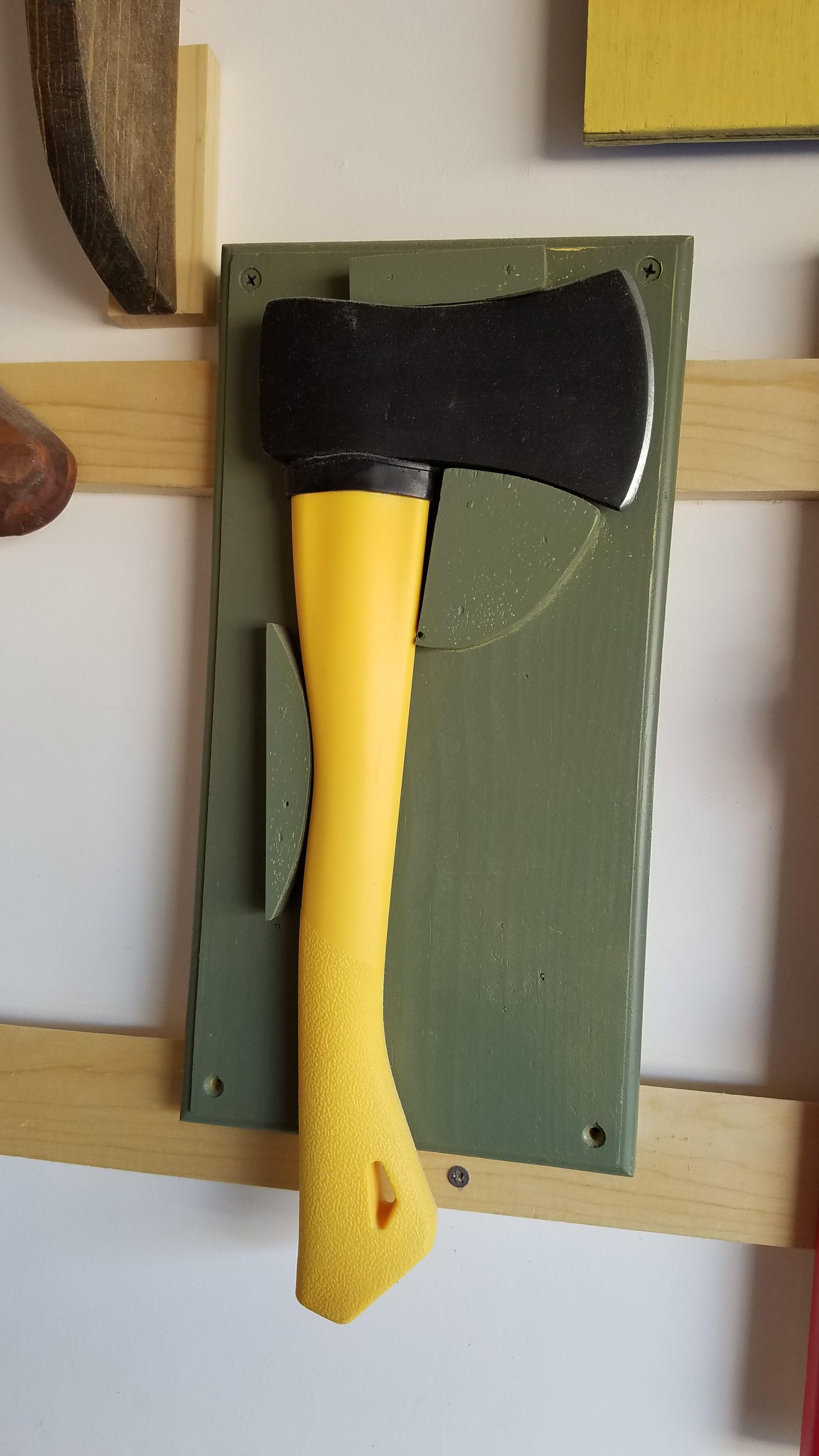 Wall Mount For Hand Axe Wood Projects Wall Mount Wall