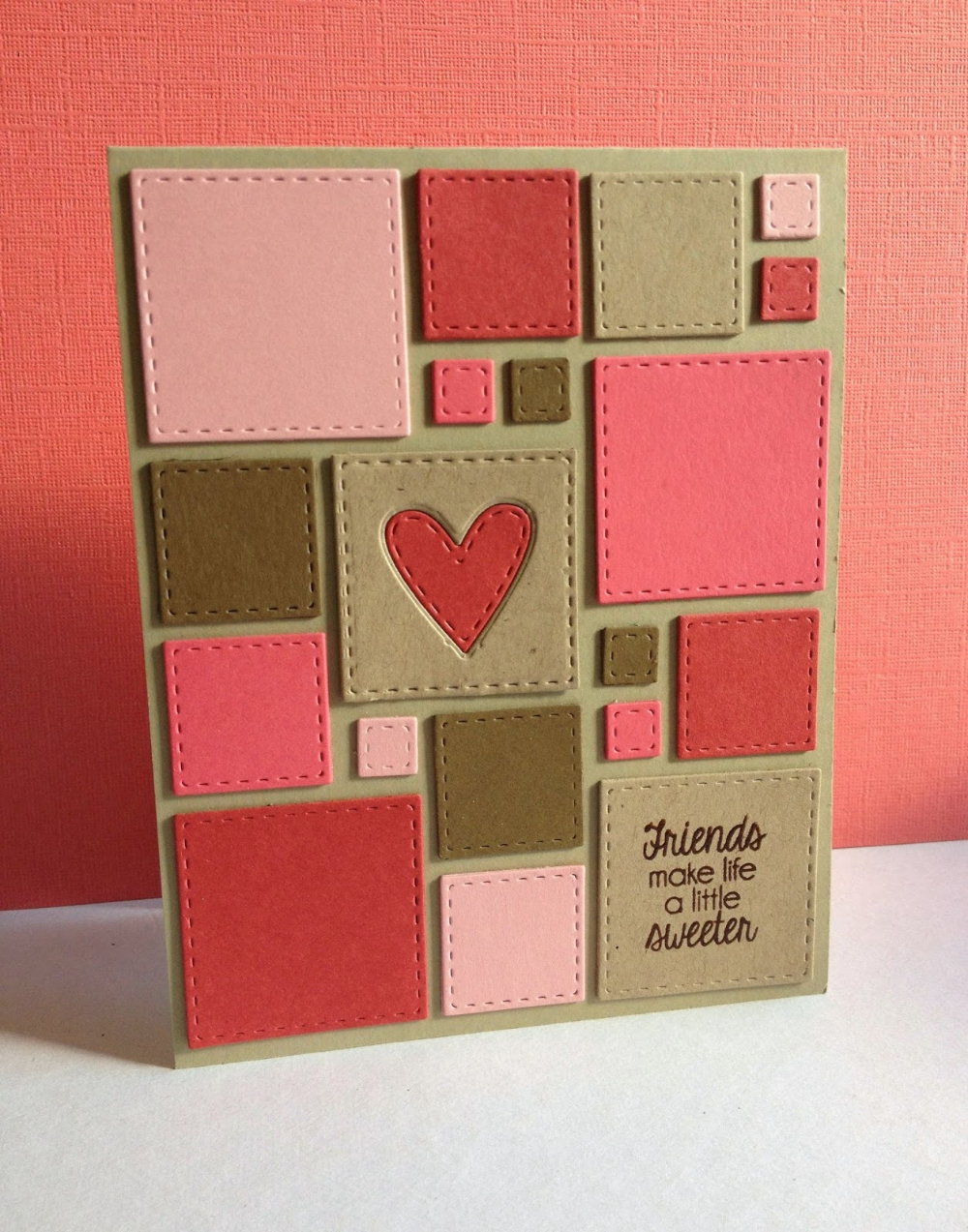 Simon Says Stamp STITCHED SQUARES Wafer Dies SSSD1