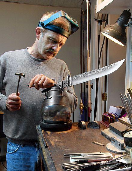 Knife making - Wikipedia, the free encyclopedia