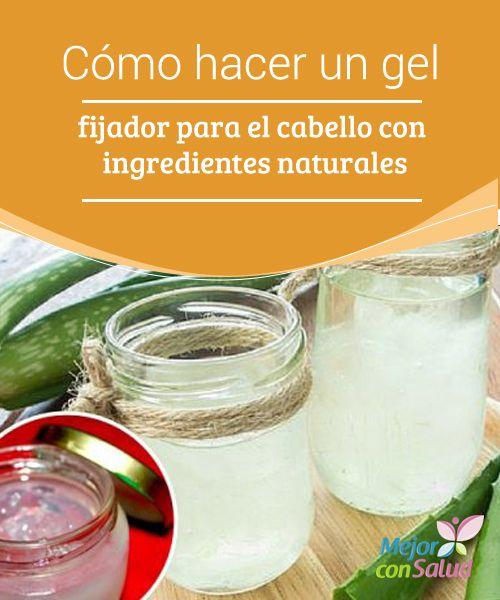 Cómo Hacer Un Gel Fijador Para El Cabello Con Ingredientes Naturales Mejor Con Salud Fijador Para El Cabello Gel Para Cabello Crema Para El Cabello