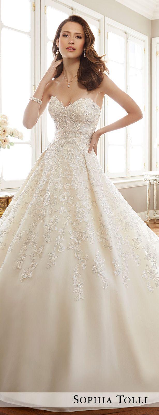 Sophia Tolli Spring 18 Wedding Dress Collection   Kleider ...