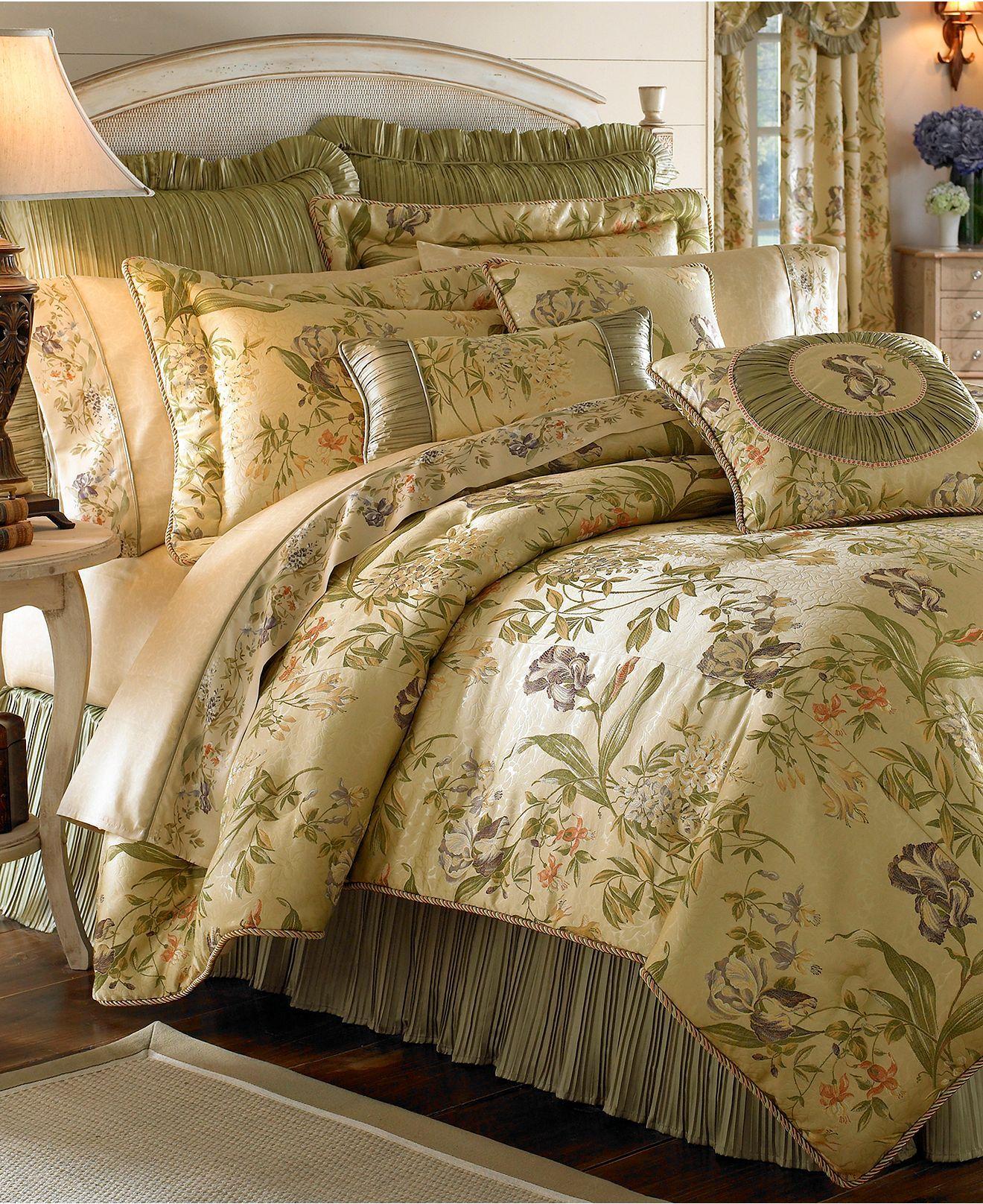 Croscill Iris Comforter Sets Bedding Collections Bed Bath Macy S Comforter Sets Croscill Bedding Queen Comforter Sets