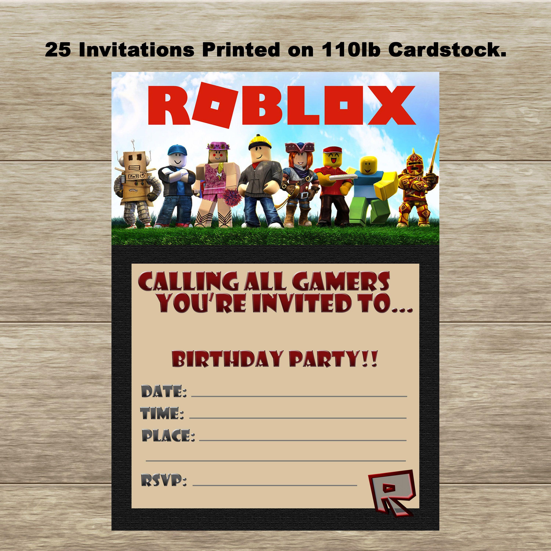 21 roblox birthday party ideas