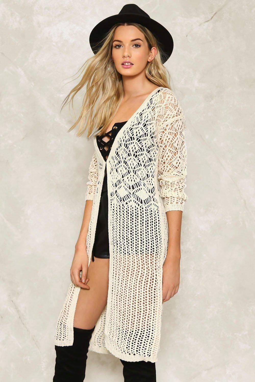 Alice Crochet Maxi Cardigan | Maxi cardigan, Alice and Cozy