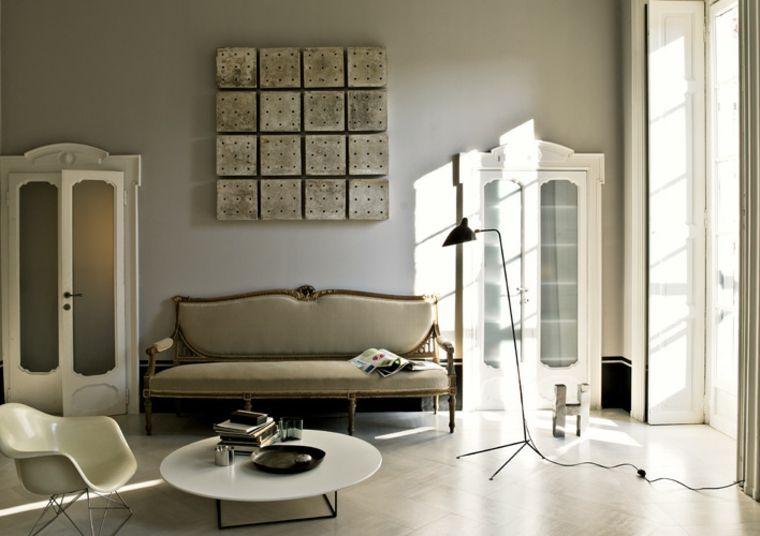 proposta elegante moderna originale soggiorno shabby chic   INTERIOR ...