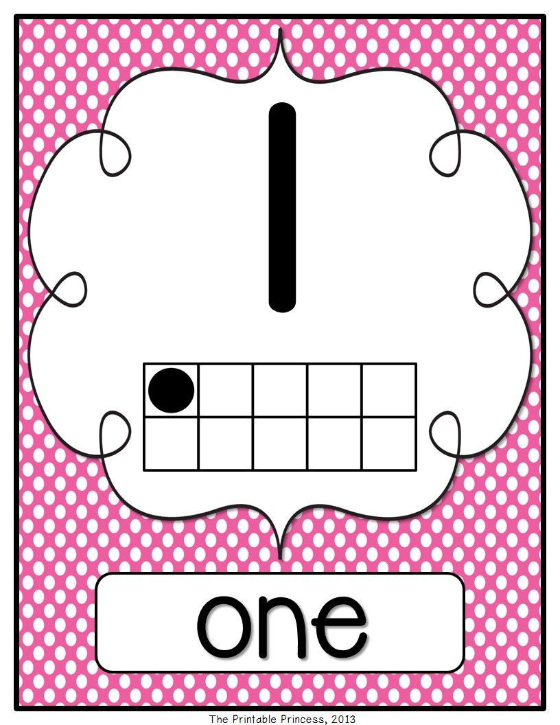 Polka dot or chevron number posters. 0-20 {include small posters ...