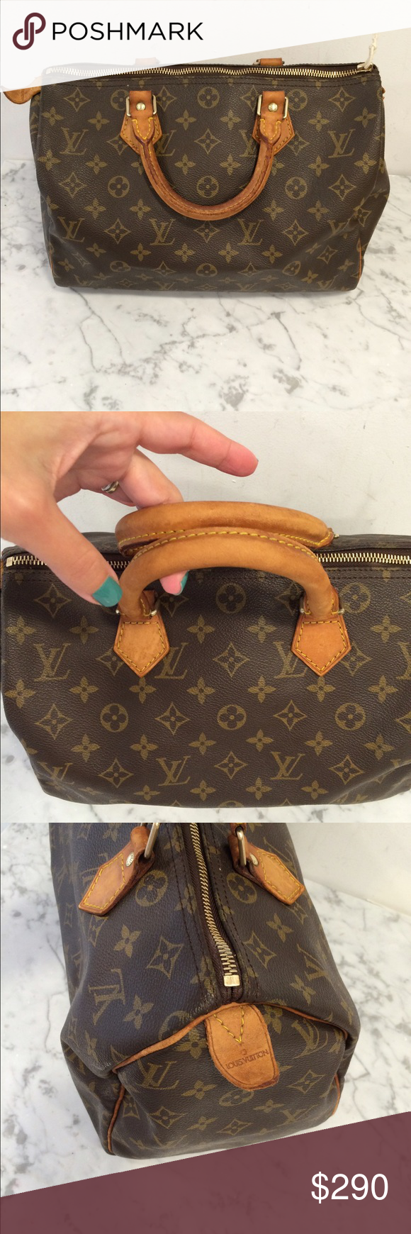44f6603598bb Authentic Louis Vuitton speedy 30 monogram 100% authentic.zipper pull is  missing but working fine.no trades .no low offers Bags Totes