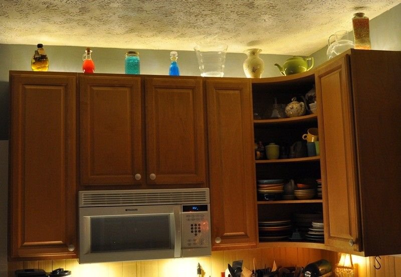 9 Astounding Rope Lights Above Cabinets In Kitchen Digital