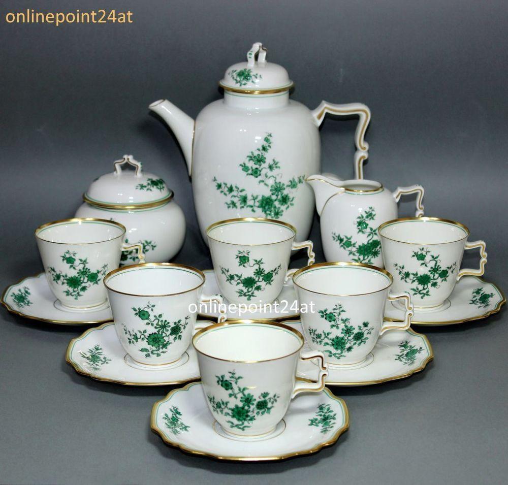 15 tlg augarten wien porzellan kaffee service 5848 vienna porcelain coffee set tea. Black Bedroom Furniture Sets. Home Design Ideas