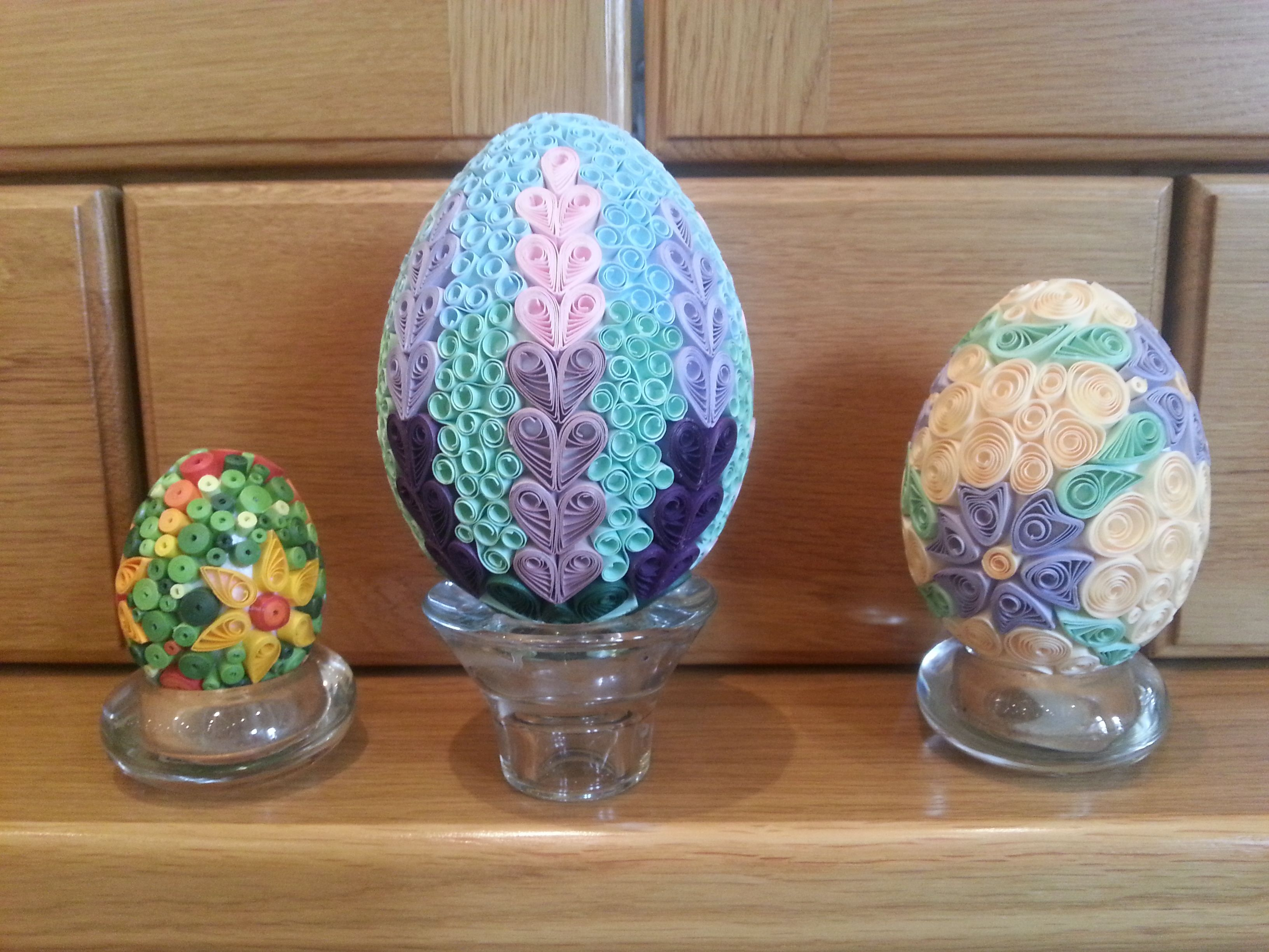 Easter eggs (Quilling)