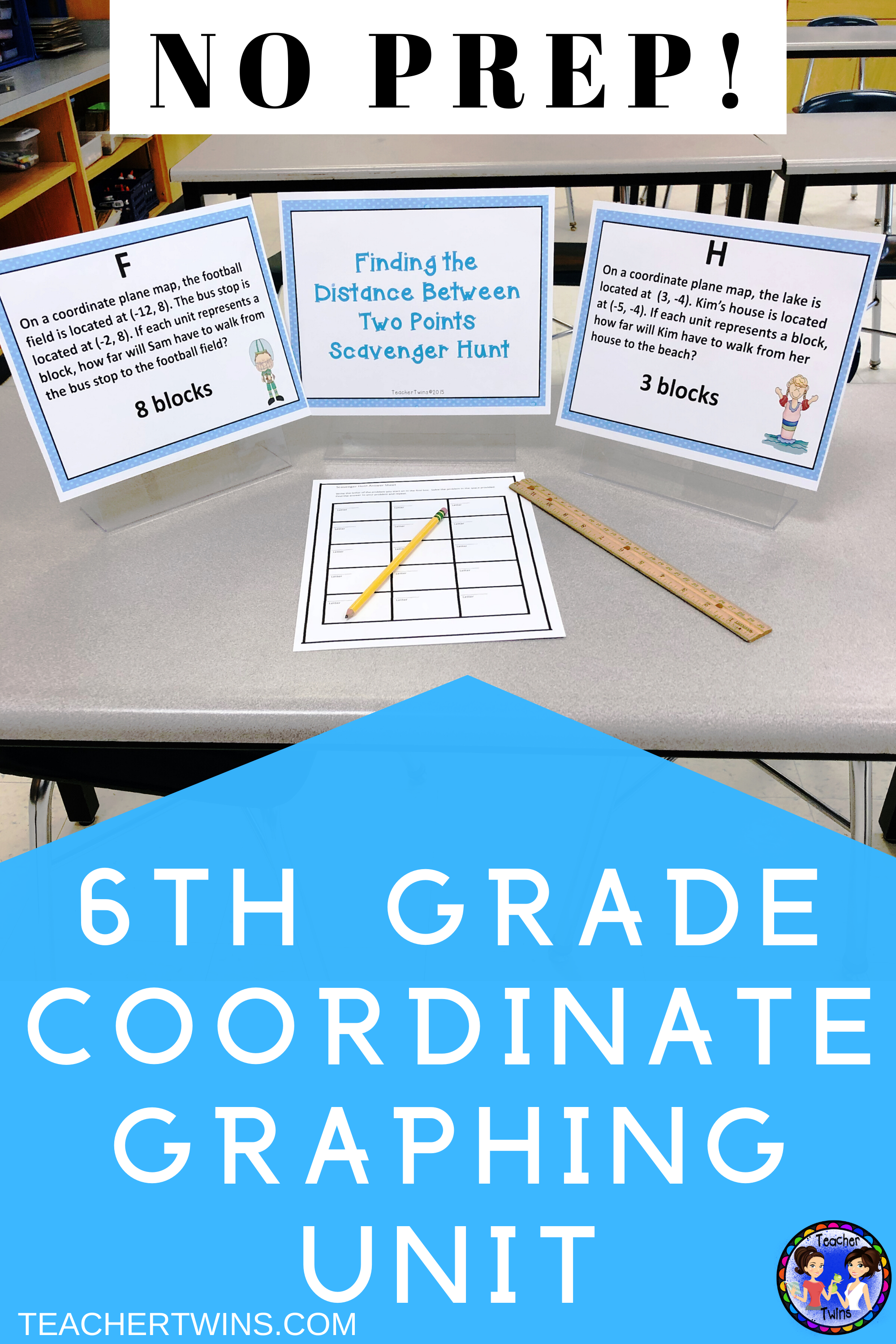 Seven Day Unit On Coordinate Graphing Common Core 6 Ns 6b