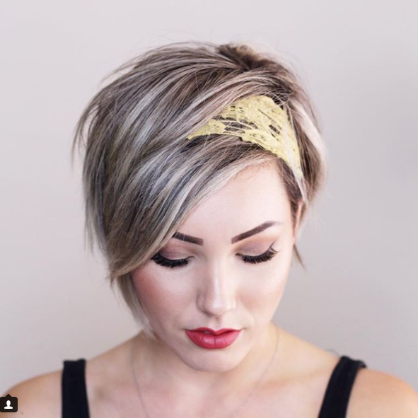 Pin By Malen R R On 2018 Short Hair Styles Short Hair Styles Pixie Short Hair Accessories