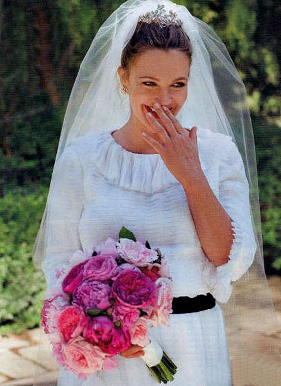 Drew Barrymore And Will Kopelman Wedding Photos Celebrity