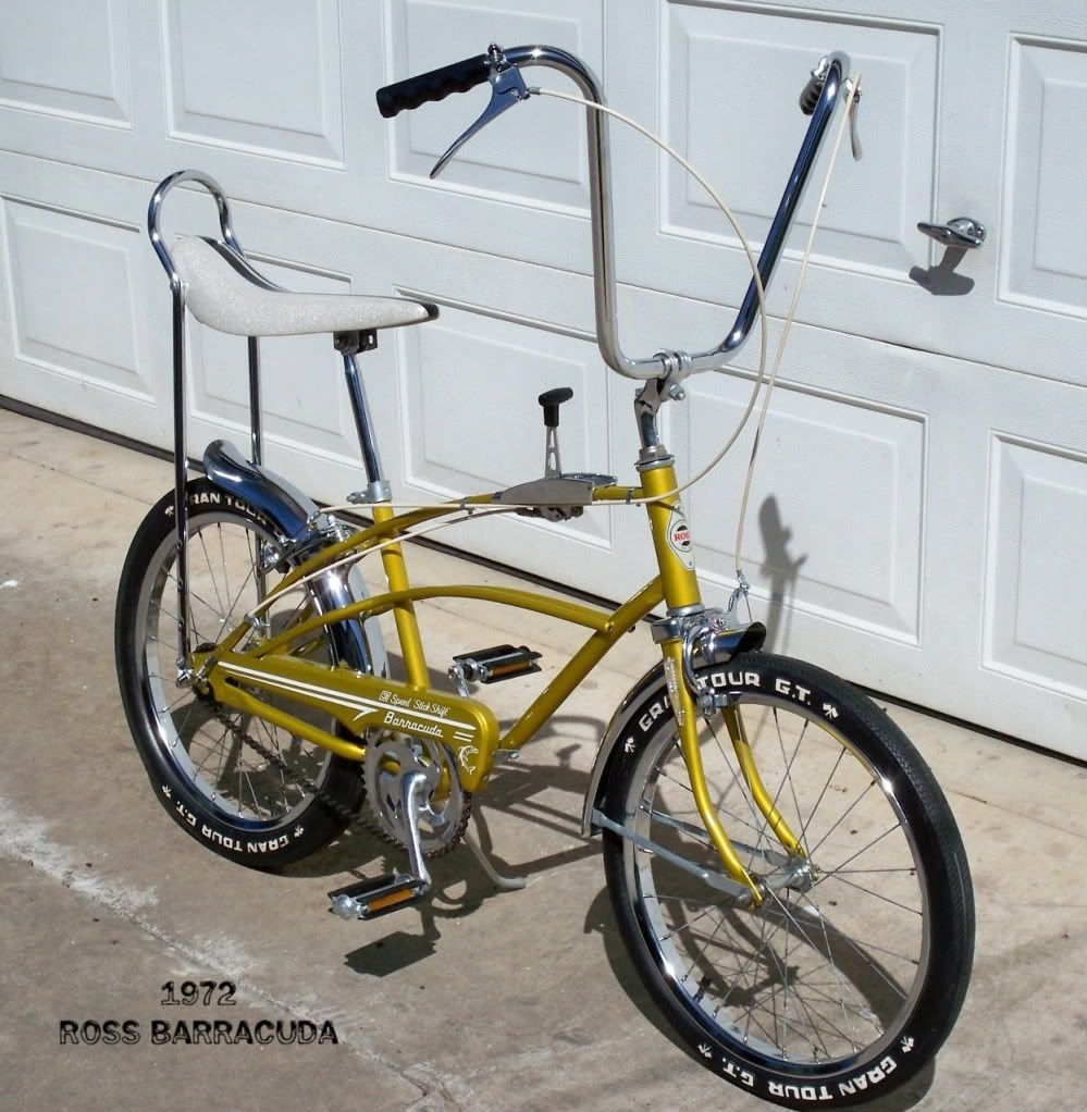 1972 Ross Barracuda | Pedal Power | Lowrider bicycle