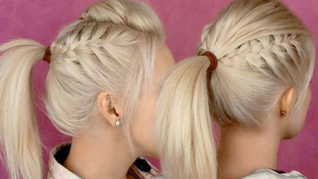 Quick Everyday Hairstyles For Long Hair U0026 Hairstyles For Medium Hair #9
