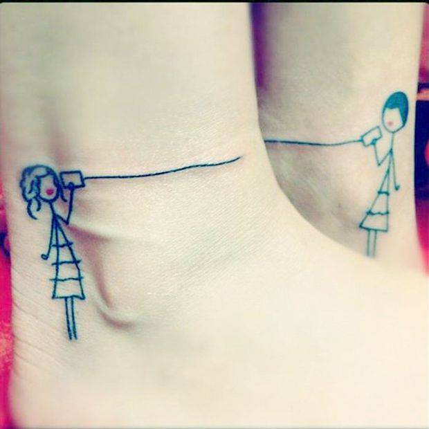 Tatuajes Pequeños Hermanas tatuajes para hermanas #tatuajespequeños #tatuajeshermanas
