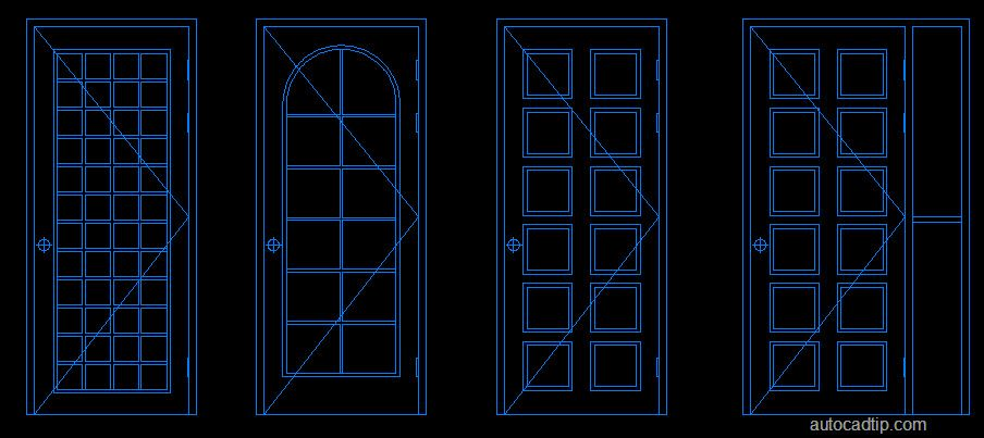 This is one of the door in autocad block library cad for Door design autocad