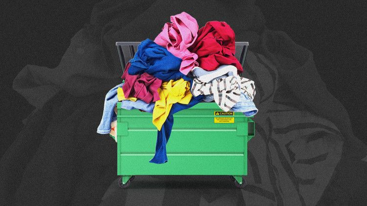 Seriously Stop Throwing Away Your Old Clothes Fast Company Old Clothes Recycle Clothes New World