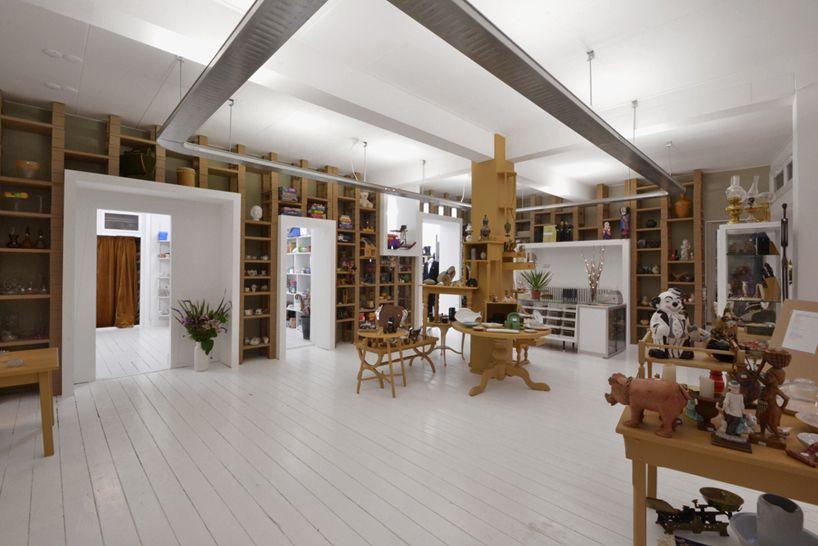 Bytr Architects Emmaus Second Hand Shop Retail Interior Design