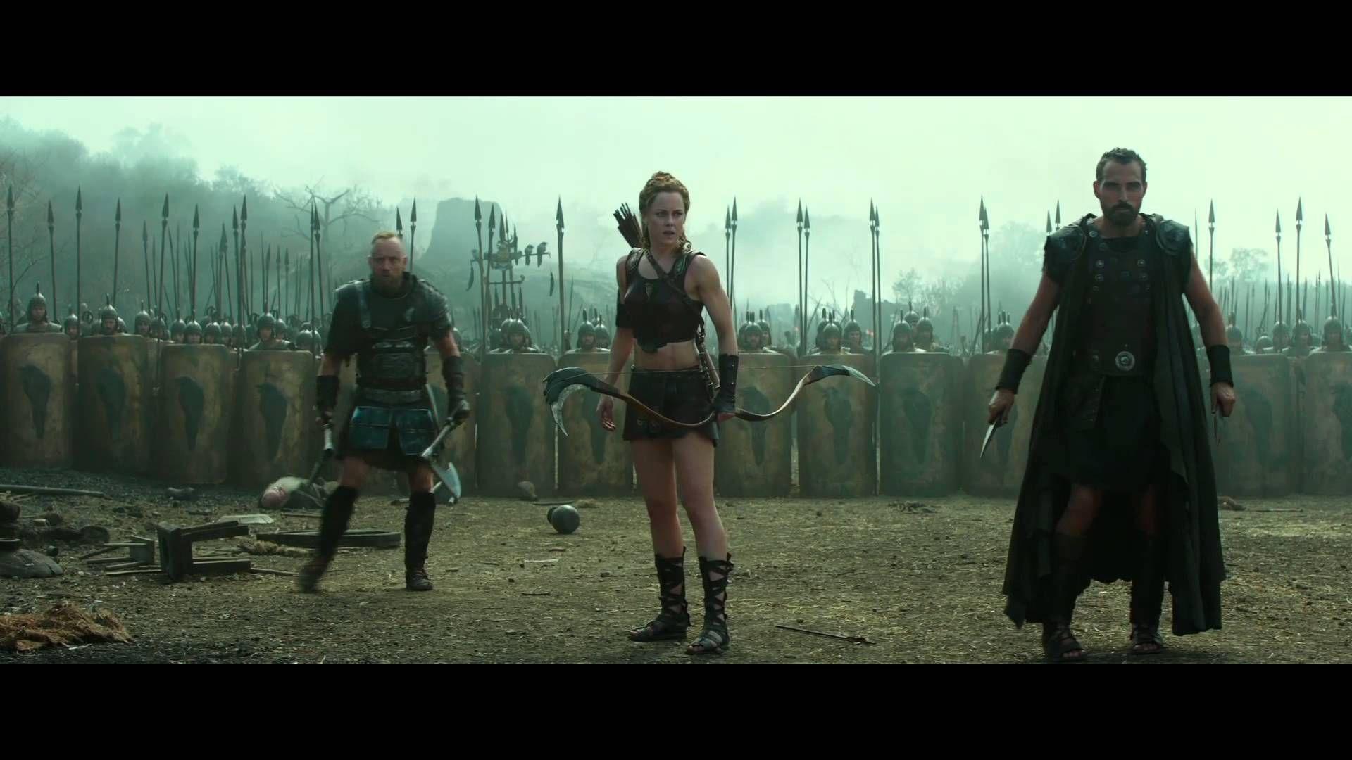 Hercules featurette hercules and atalanta uk