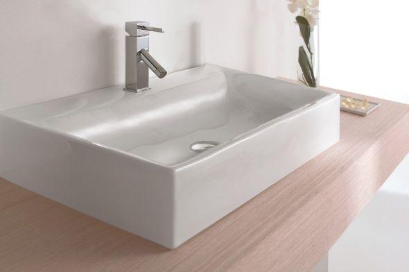 Lavabos aida casita g lavabos sobre encimera pinterest - Lavabos sobre encimera ...