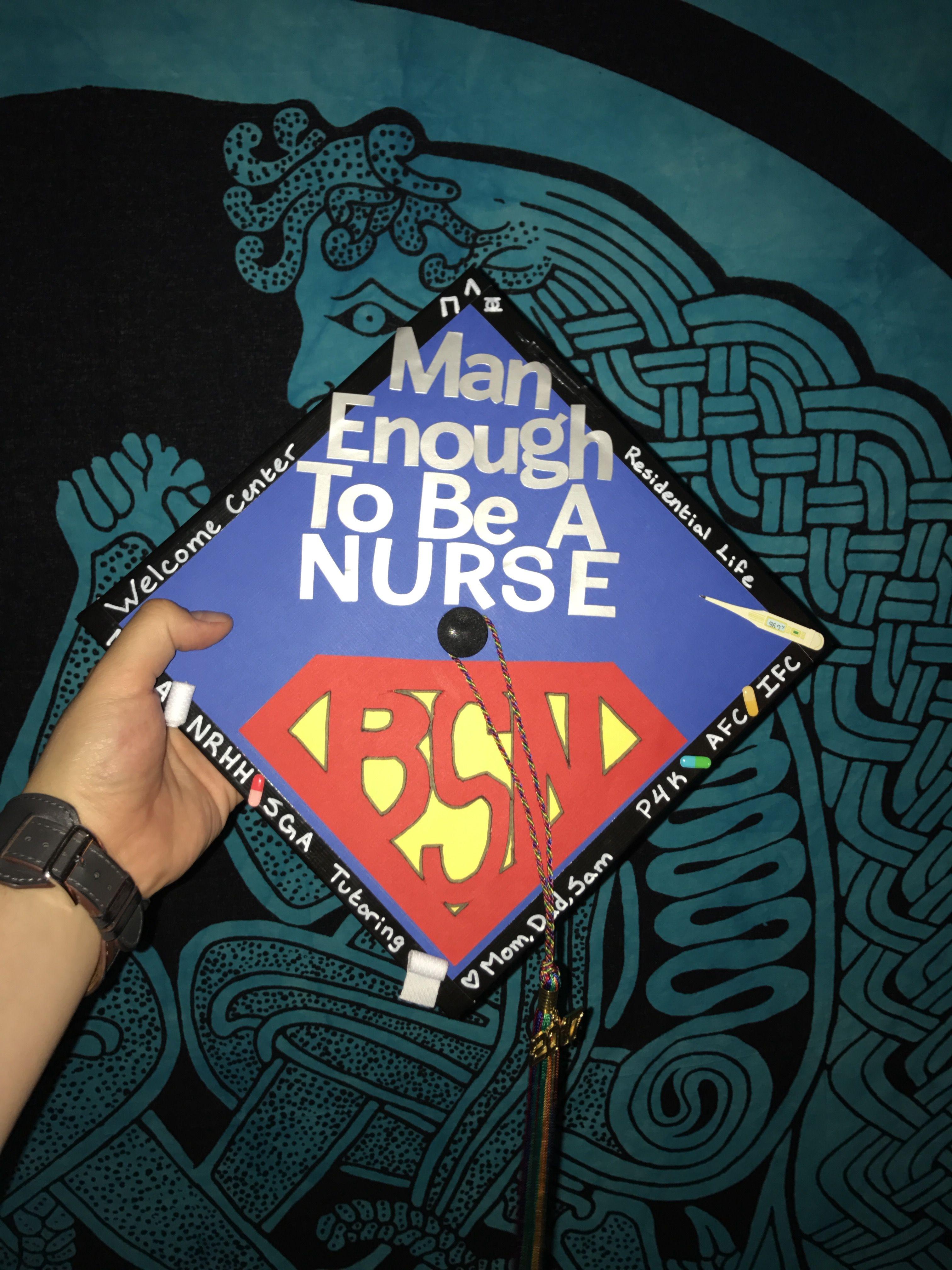 Male Nurse Graduation Cap Nurse Graduation Cap Nursing Graduation Graduation Cap