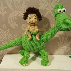 Amigurumi dinosaur crochet pattern   Amigurumi patrones gratis ...   300x300