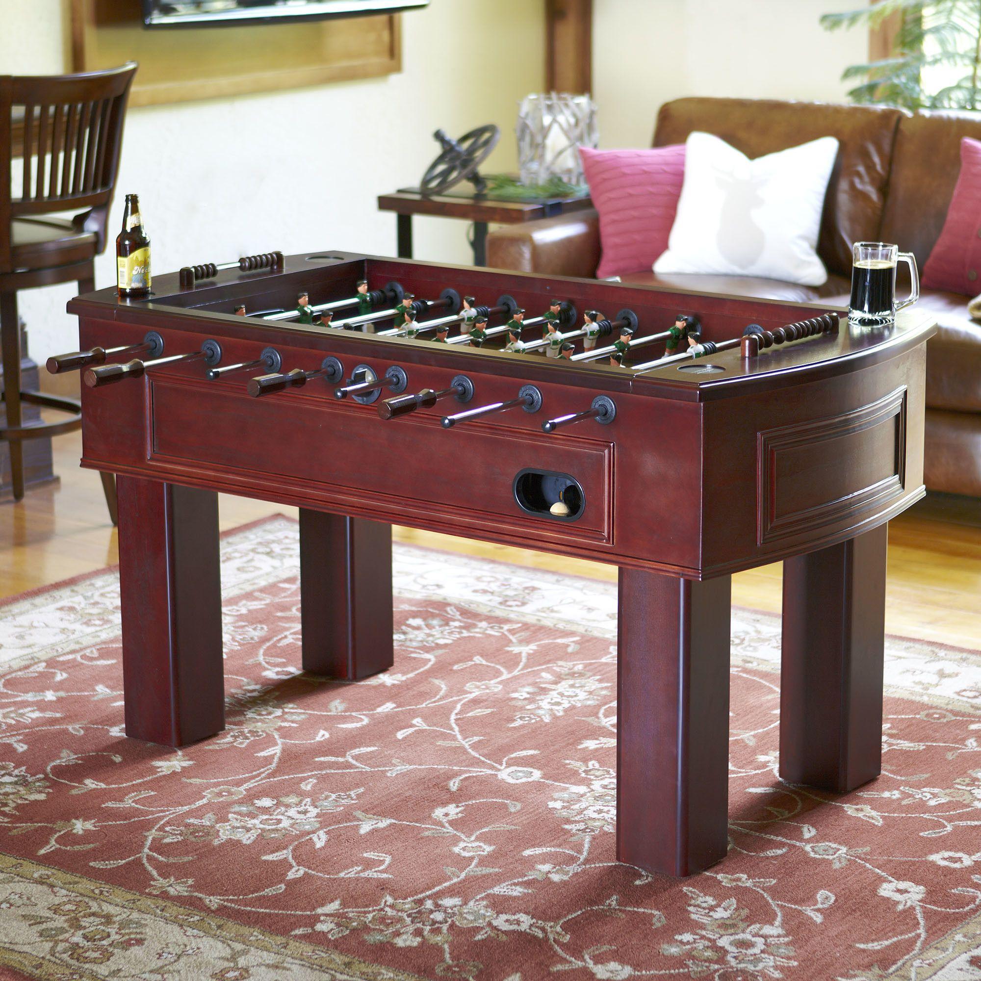 Loftin 62 Wood Foosball Table Foosball Table Foosball Table