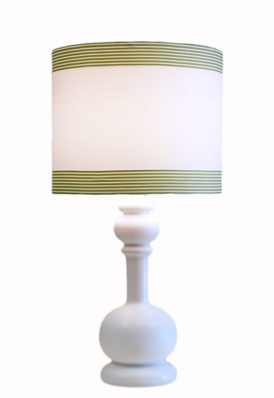 Table Lamp Shade Idea But Trim In Bright Color