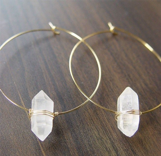 Raw Stone Jewelry for Your Bridal Party 1