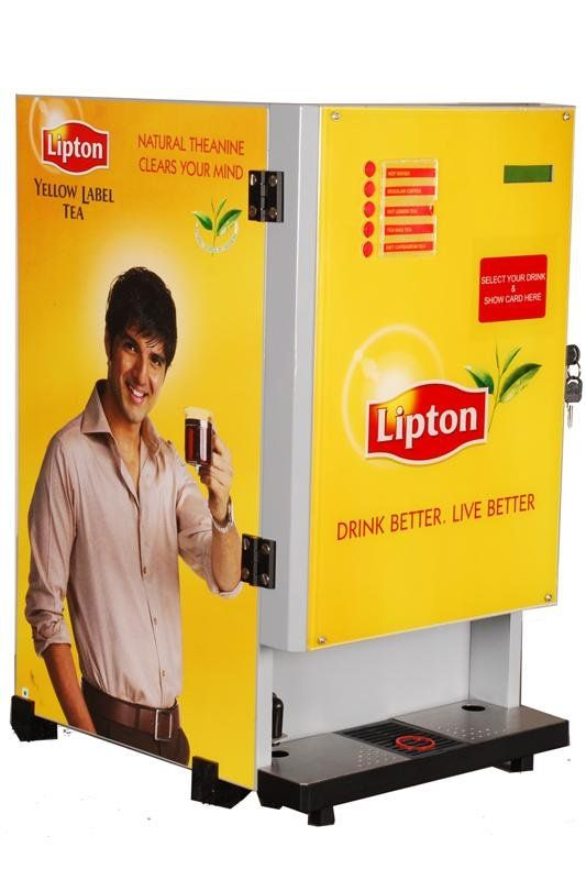 Hindustan Unilever Limited Coffee Vending Machines Lipton Tea