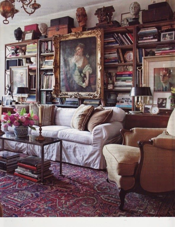 Cottage Home Library: Cozy Home Library, Cozy House