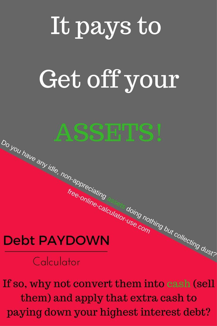 debt pay down calculator savings from one time extra payment
