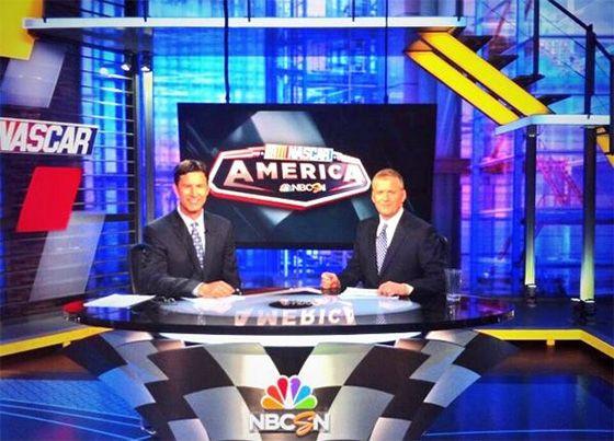 Nascar America Debuts On Nbcsn