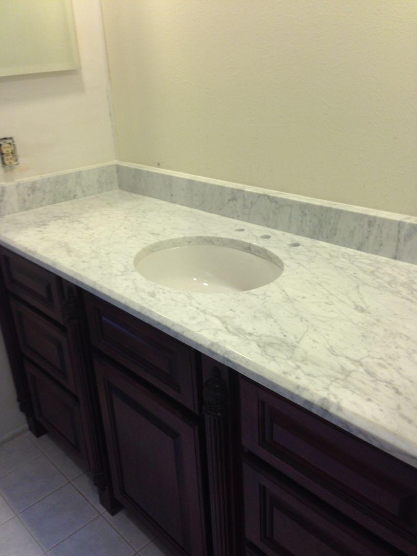 Bathroom counter | Underwood granite jobs | Pinterest