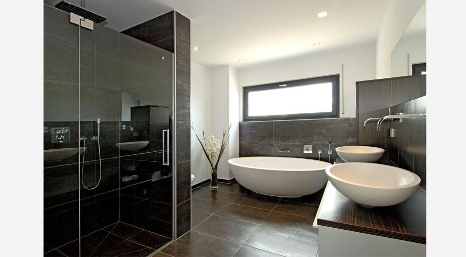 Amazing Weiss Fertighaus Innenarchitektur Alles Badezimmer Modernes Interieur Design elemente All