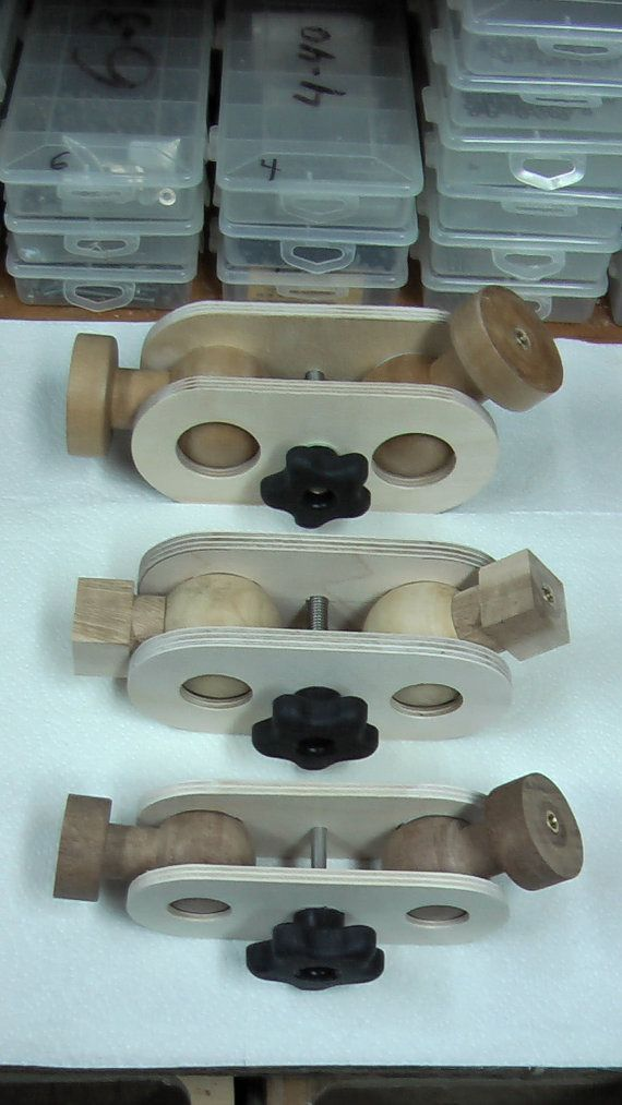 Wooden ball and socket joints, adjustable