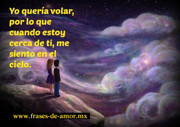 me siento en el cielo http://frases-de-amor.mx/me-siento-en-las-nubes/