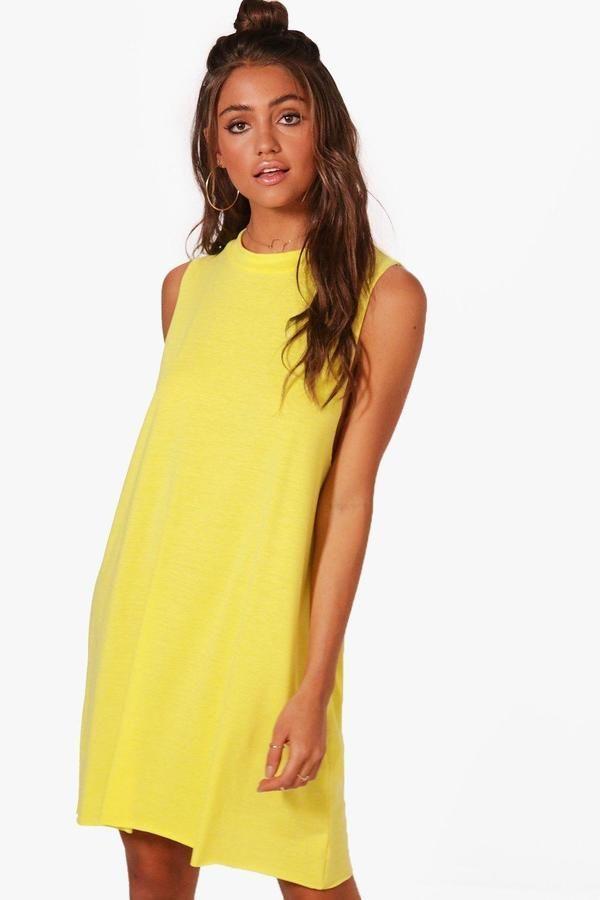 97ea1f0e7ba1e9 boohoo Lucia High Neck Lounge Dress